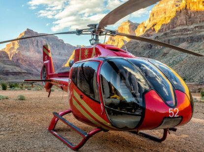 Tour en Helicoptero al Gran Cañón desde Las Vegas
