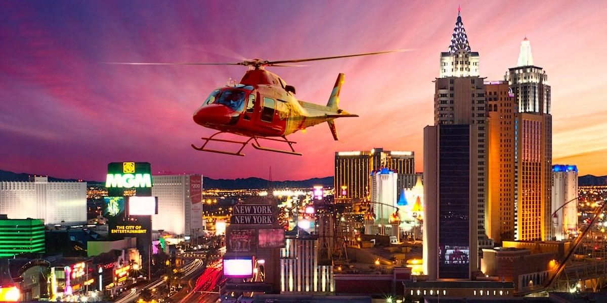 Paseo Nocturno en Helicoptero por Las Vegas