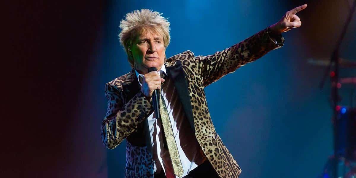 Concierto Rod Stewart en Las Vegas