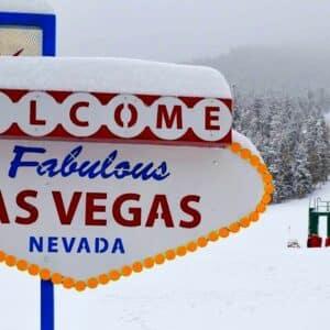 Vive la nieve en Las Vegas