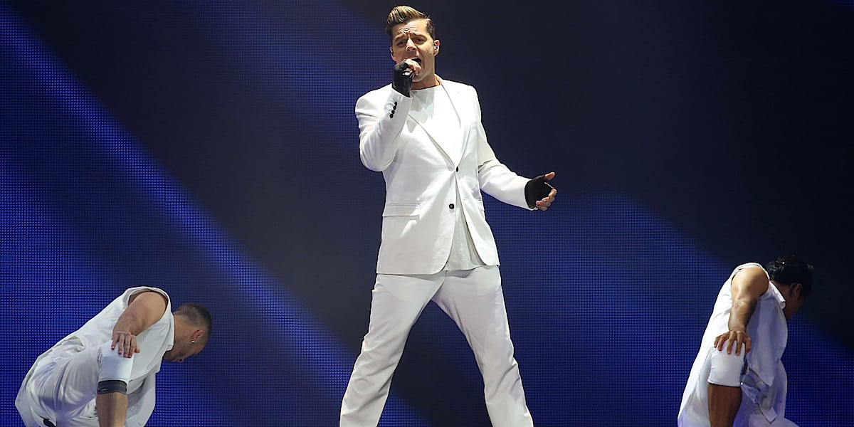 Concierto Ricky Martin en Las Vegas