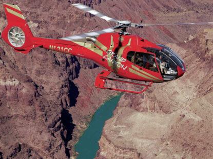 Tour al Gran Cañón con Paseo en Helicóptero y Acceso al Skywalk