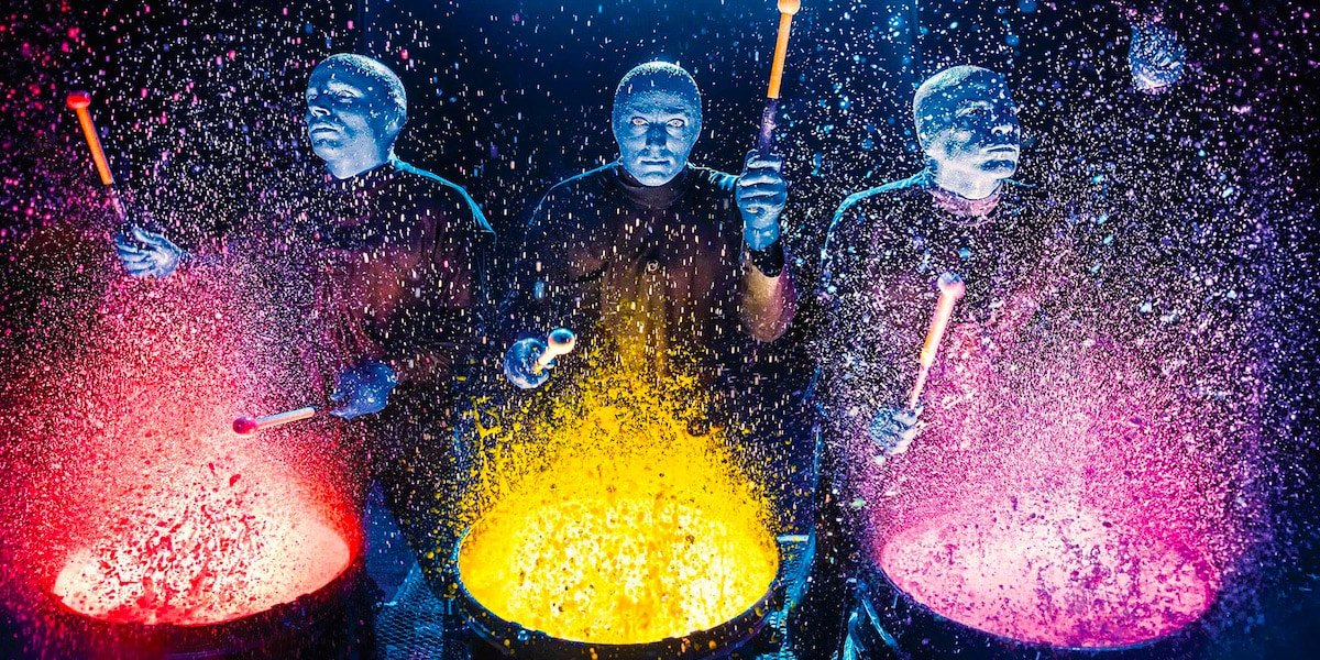 Blue Man Group Boletos
