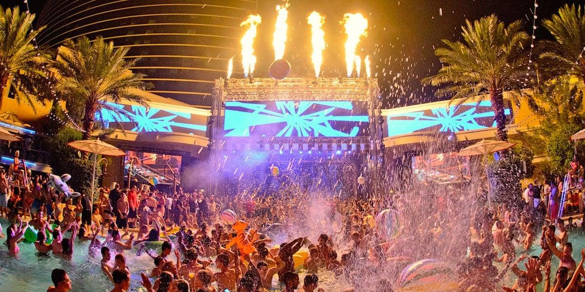 Pool Party en Las Vegas