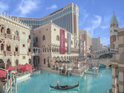 Góndolas en Las Vegas