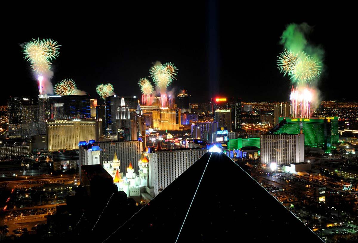 Recibe el Año Nuevo en Las Vegas