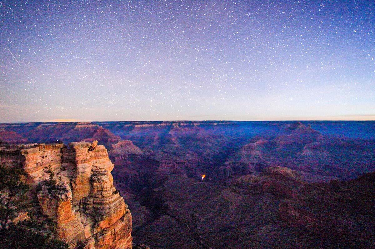Visita el Gran Cañon y Mira las Estrellas